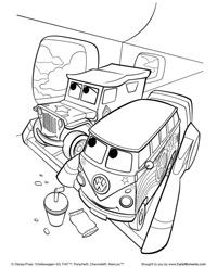 cars 2 printable coloring pages cars2_coloring2jpg - Cars 2 Printable Coloring Pages