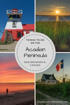 The Acadian Peninsula in New Brunswick, Canada is a hidden gem of historical importance, culture, & maritime fun. Try these things to do while there! via @Ottsworld