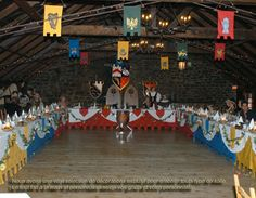 medieval wedding decorations - Google Search