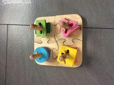 Dětská dřevěná skládačka EDUCO - obrázek číslo 1