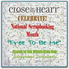 If You Bling It: Close to My Heart Free to be Me Blog Hop #GoBack