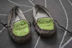 Pocket Full of Cactus: DIY: Summer Moccasins!