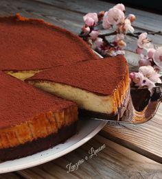 White chocolate cheesecake | Cheesecake al cioccolato bianco | Zenzero e Limone