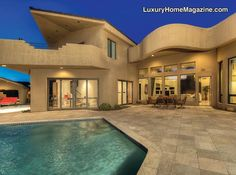 Stunning Modern Estate in Paradise Valley, AZ. This is gorgeous!