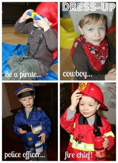 What will your child pretend to be?