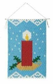 Resultado de imagen para christmas beaded banners
