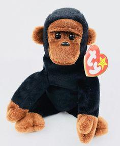 a3341f0850d Congo Ty Beanie Baby Retired Tags Monkey Ape Plush 1997