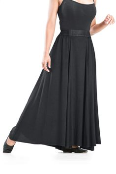 f20fe14052 Emma Maxi - HolyClothing Plaid And Leather, My Black, Peasant Skirt, Front  Design
