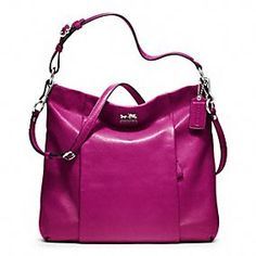 MADISON LEATHER ISABELLE  by Coach