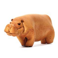 1stdibs.com | Leather Hippopotamus #Roseda