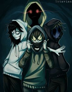Hoodie | Ticci Toby | Jeff the Killer | Eyeless Jack