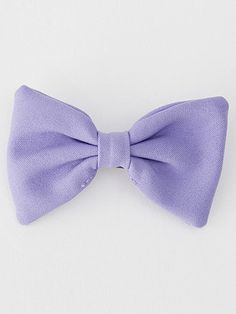 American Apparel - Small Bow Hair Clip - Heirloom Lilac Poly $10.00