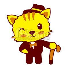 Boians Vector Gentleman Cat Character Design. #Boians #Gentlemen #cane #fedora #CatCharacter #FelineCharacter #PussyCatCharacter #KittyCharacter #PetCharacter #AnimalCharacter #MammalCharacter #ZodiacCharacter #VectorCharacter #SellingCharacter #StockIllustration #Cat #Feline #PussyCat #Kitty #Puss #kitten #Katze #Chat #Gatto #Gato #Neko #Pet #Animal #Mammal #Character #CharacterDesign #Cartoon #Illustration #Vector #Cartoon #Icon #ClipArt #Head #Breed #Fun #Tail #Pedigreed #Zodiac #Pretty…