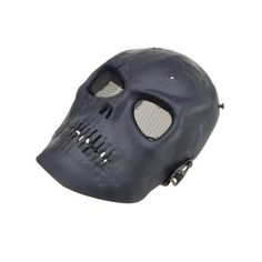 Black Skull Skeleton Army Airsoft Paintball BB Gun Full Face Game Protect Mask for Airsoft Hunting Wargame and All Military Purpose by Neewer. $13.56. *Great for airsoft, hunting, war game and military use *Color: as picture *Size: Approx  270 x 200 mm *Foam padded inside  package content: 1 x Mask
