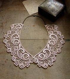 lace collar ASTRID peter pan collar