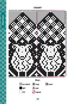Knitted Mittens Pattern, Knit Mittens, Knitting Socks, Mitten Gloves, Graph Design, Chart Design, Knitting Charts, Knitting Patterns, Fair Isle Knitting