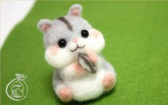 Needle felting DIY Kit - Easy - Hamster Difficulty level ★★☆☆☆ Estimated production time: 1hr 30min. Make a cute animal with this needle felting DIY kit! This kit is perfect for needle felting beginners. It includes everything you need to start felting and make your own felted toy. No