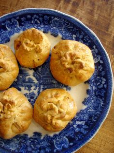 butternut squash pecan dumplings