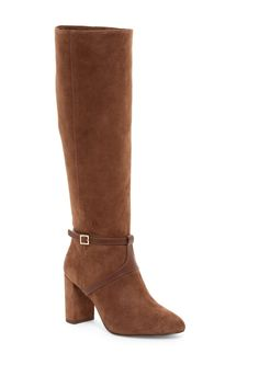 Fall ready!  Louise et Cie Somerra Block Heel Boots