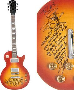 To Les from Slash - 2000 Gibson Les Paul Standard by Les Paul Foundation, via Flickr