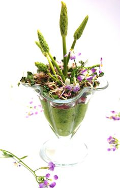 Extraordinaire bouquet de printemps sauvage   | Antigone XXI   | Recette végétalienne - Vegan recipe