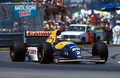 Ален Прост (Williams FW15C), Гран-при Канады, Монреаль, 1993