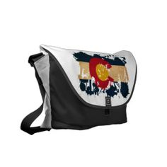 Colorado Flag Courier Bag Pack Your Bags, Home Based Business, Beautiful Bags, Coco Chanel, Clutch Purse, Denver, Frost, Bucket Bag, Bag Accessories