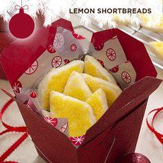 Taste of Home's Cookie Countdown: Lemon Shortbreads!