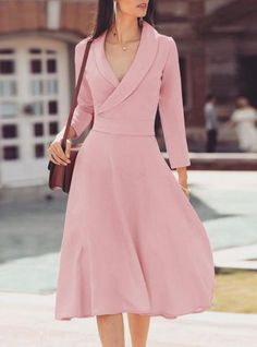 New dress outfits skater Ideas Trendy Dresses, Cute Dresses, Vintage Dresses, Casual Dresses, Formal Dresses, Dresses Dresses, Elegant Dresses, Summer Dresses, Wedding Dresses