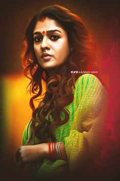 Beautiful Indian Actress, Beautiful Actresses, Nayanthara Hairstyle, Anushka Photos, Lord Shiva Painting, Art Of Beauty, Indian Art Paintings, Actors Images, Photo Wallpaper