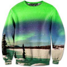 Aurora Glow Sweatshirt