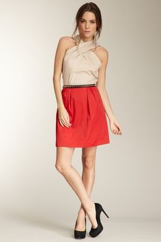 WE by Whitney Eve Winnie Dress by Dresses: Red, White & Blue on @HauteLook