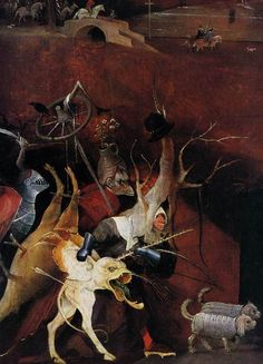Hieronymus Bosch, detail from the the Temptation of St. Anthony, 1505