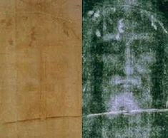 """The Shroud of Turin is a linen cloth bearing the image of a man who appears to have suffered physical trauma consistent with crucifixion. Laboratories at the University of Oxford, the University of Arizona, and the Swiss Federal Institute of Technology, concurred that the samples they tested dated between 1260 and 1390. In 1978 a detailed examination was carried out by a team of scientists. They found no evidence of forgery, and called the question of how the image was formed """"a mystery""""."""