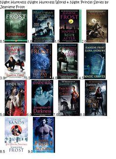 Night Huntress, Night Huntress World & Night Prince Series by Jeaniene Frost