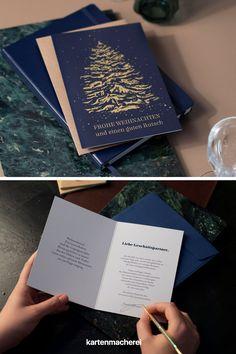 Mit geschäftlichen Weihnachtskarten zu Weihnachten die Geschäftsbeziehung für 2021 speichern. Sprüche für Weihnachtskarten geschäftlich: Mit deinen Weihnachtskarten für deine Geschäftspartner sendest du geschäftliche Weihnachtsgrüße und deinen persönlichen Dank und Wünsche. #kartenmacherei #weihnachten Company Christmas Party Ideas, Christmas Is Coming, Father's Day, Invitation Cards, Relationship, Sticker
