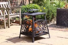 Large Mesh Garden Fireplace Brazier