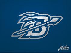 Brookwood warriors logo2 dribbble