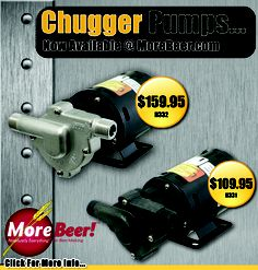 Homebrew Finds: More Beer: Chugger Pumps Now Available