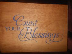 Count Your Blessings With/out Hearts by AngelPaws6 on Etsy