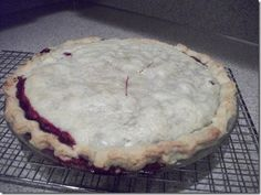 Bumble berry pie. We had this in Canmore, Alberta, CA & was excited to find a recipe.