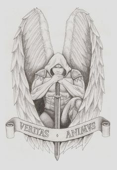 Archangel Tattoo by spacemunky1979