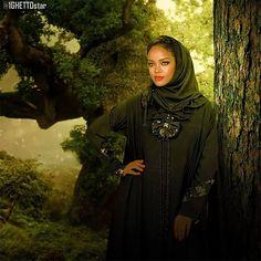 ريانا باللبس الخليجي