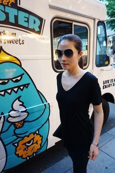 SARA.K#seoul street fashion http://blog.naver.com/sarabykss/220366214851