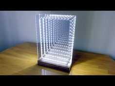 Modern Led Infinity Mirror Table Lamp: 19 Steps (with Pictures) Led Diy, Infinity Mirror Table, Infinity Spiegel, Mirror Illusion, Infinity Lights, Mirrors Film, Cloud Lamp, Deco Led, Led Mirror