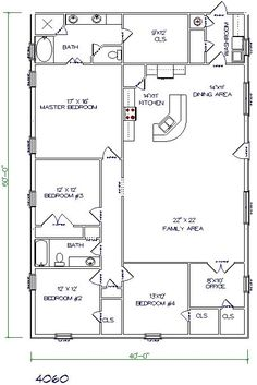 With a slightly redesigned kitchen area, this could be the simple house we build!