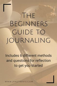 If you want to start a journal but don't know where to begin, this guide is for you. I walk you through the whole process, and include 6 different methods and questions for reflection. Bujo, Affirmations, Journal Writing Prompts, Reading Journals, Art Journals, Mind Reading Tricks, Routine, Morning Pages, Yoga Journal