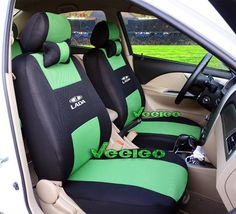 Suzuki Jimny Luxury Padded Leather Look Car Seat Covers 1998- 2 x Fronts