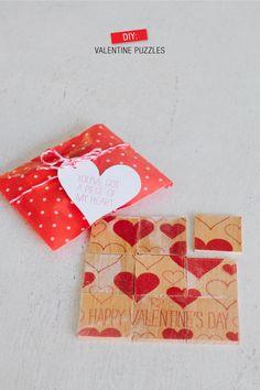 Heart Puzzle Valentines. Canyon Ridge Pediatric Dentistry, Parker & Castle Rock, CO. www.canyonridgepediatricdentistry.com