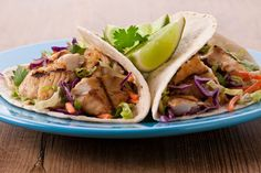 Fish Tacos with Cilantro Slaw | Smart Balance